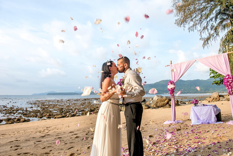 Wedding Elopement Ceremony Hua Beach