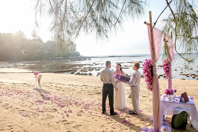 Remote Wedding Elopement Ceremony