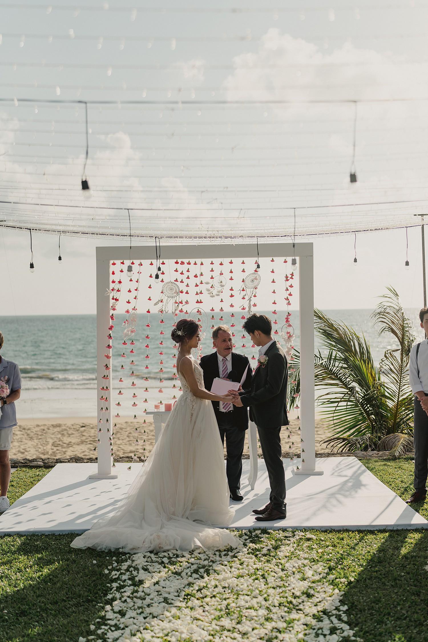 Villa Tievoli Wedding Ceremony