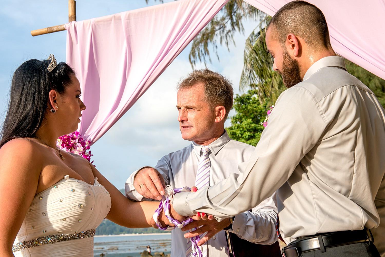 Wedding Ceremony Hand Fasting