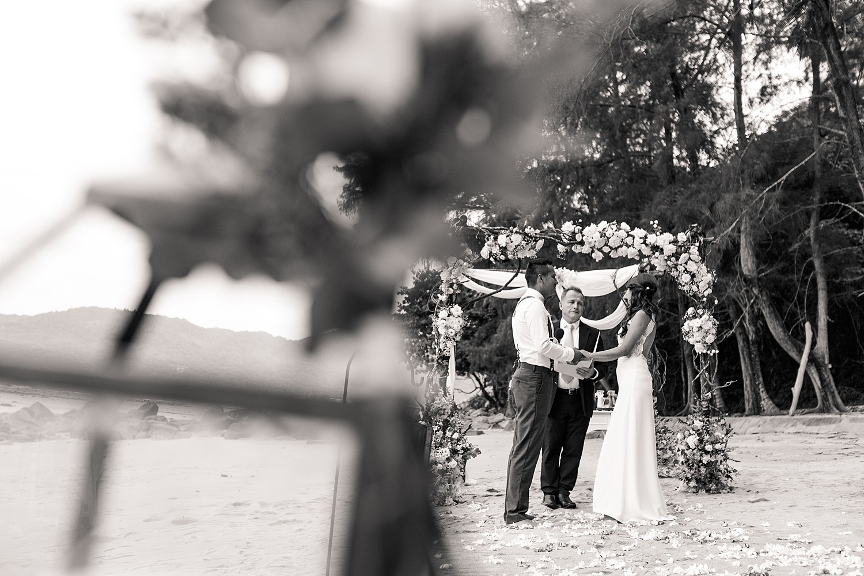 Hua Beach Rustic Design Wedding Ceremony