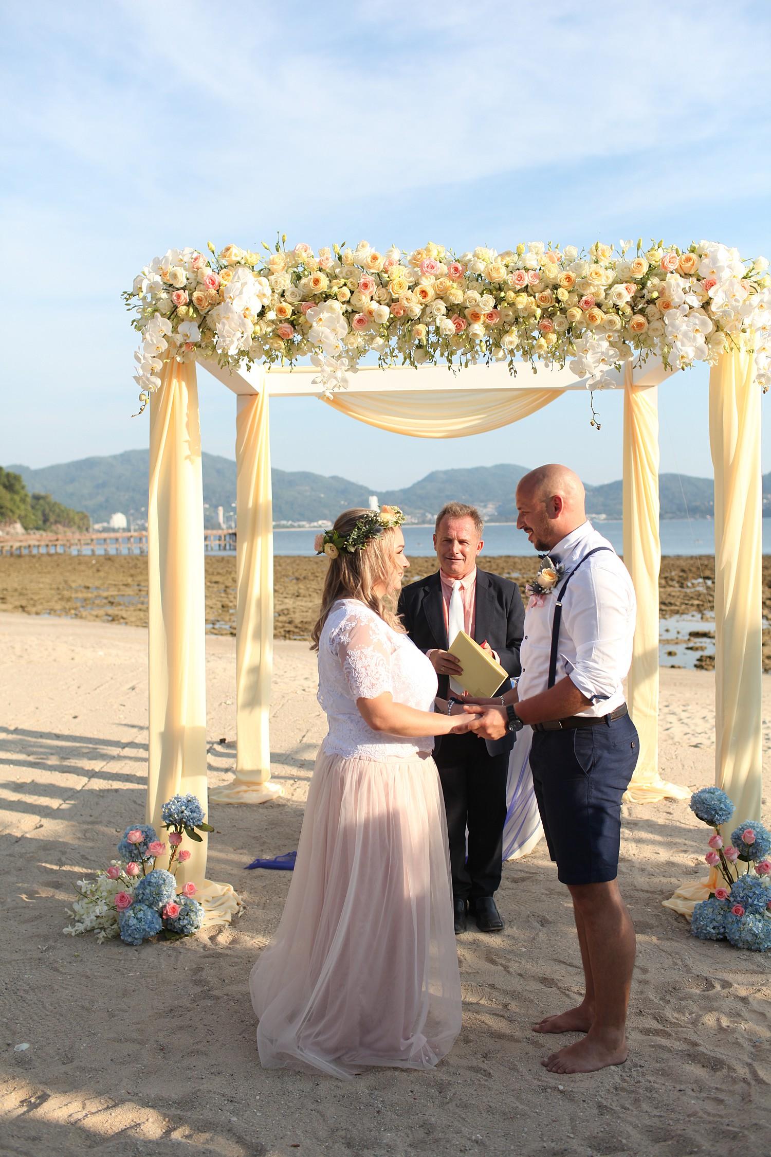 Kamala beach Wedding Ceremony